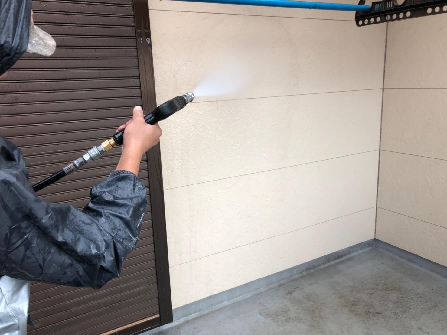 さいたま市緑区にて外壁塗装工事
