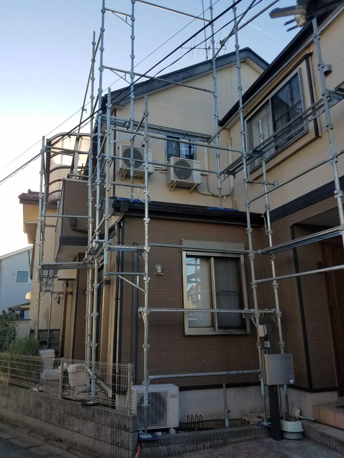 春日部市にて、改修工事を行いました。