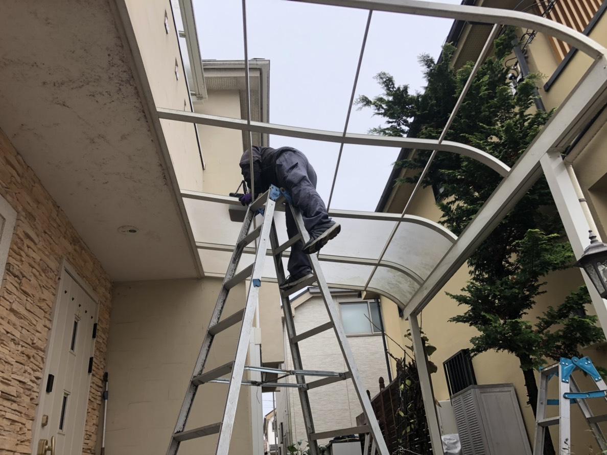 東村山市青葉町にてOPTIMUS外壁塗装をしました